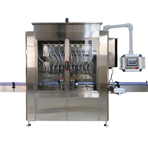 מכונת מילוי נוזלים מסוג כוח המשיכה אוטומטית