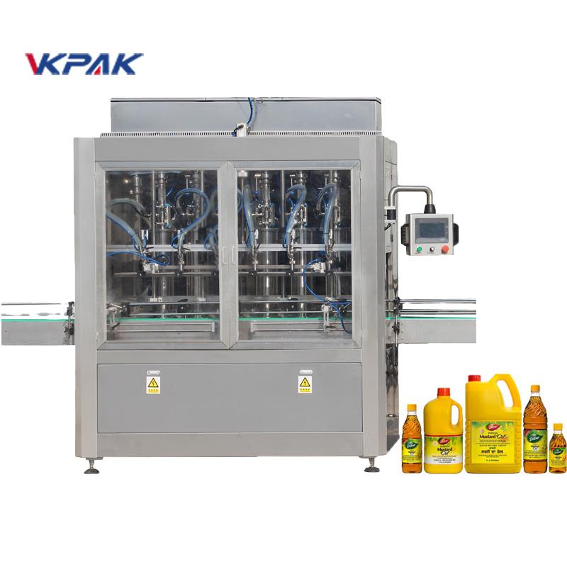 מכונת מילוי נוזלים אוטומטית מסוג בוכנה