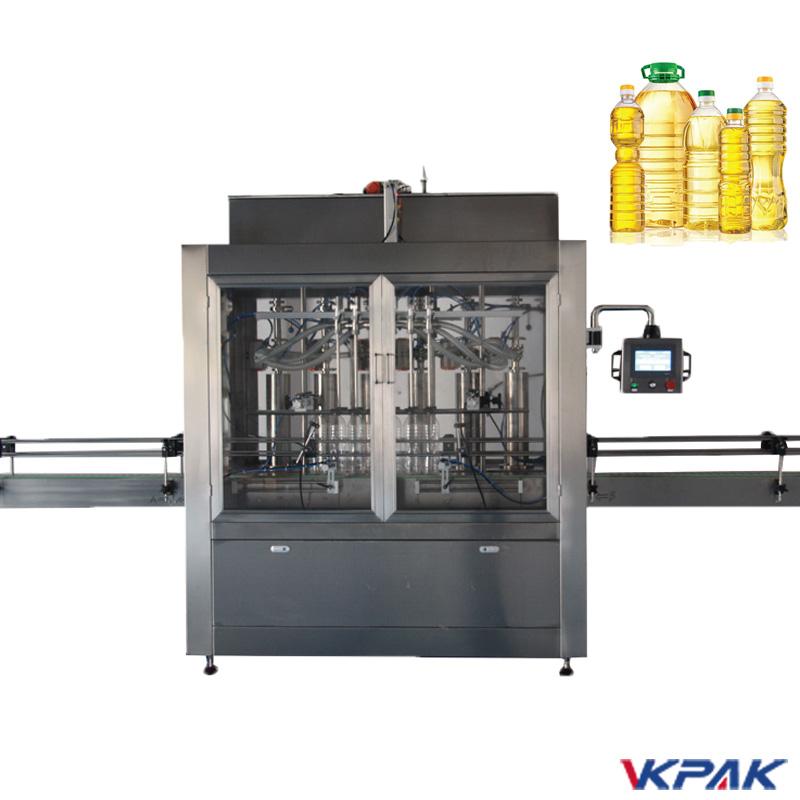 מכונת מילוי בקבוק בוכנה